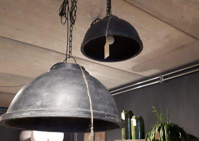 Hanglamp fiber-beton 50 cm
