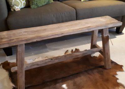 houten bank teak