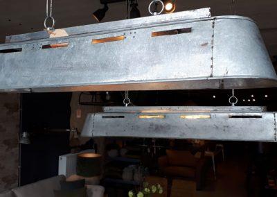 Langwerpige aluminium lamp