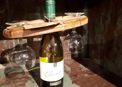 Wijnglashouder 27x15cm
