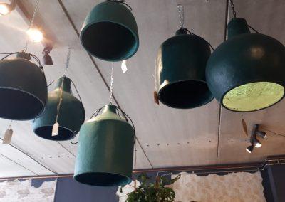 Hanglampen (groen)