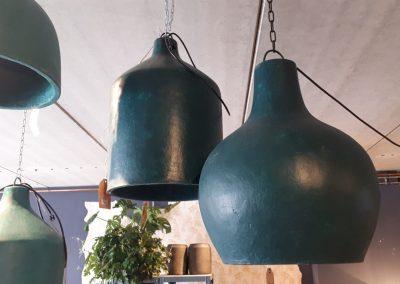 Hanglampen (blauw)