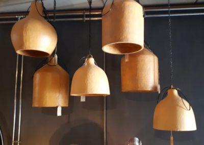 Hanglampen (houtkleur)