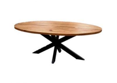 Ovalen Eettafel