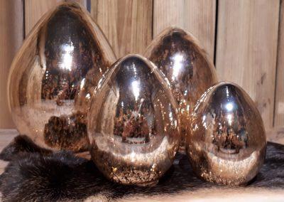Paaseieren glas (GOUD)